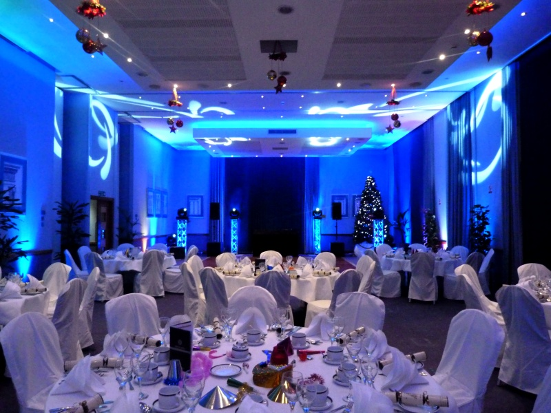 Venue Mood Lighting (uplighting)